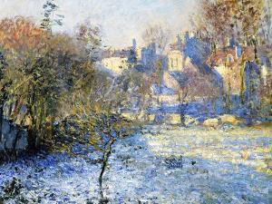 Frost, 1875 by Claude Monet