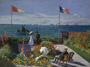 Garden at Sainte-Adresse, 1867 by Claude Monet