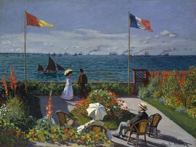 Garden at Sainte-Adresse, 1867