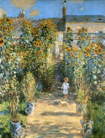 Garden at Vetheuil, 1881