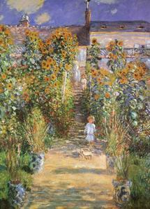 Garden at Vetheuil, c.1881 by Claude Monet