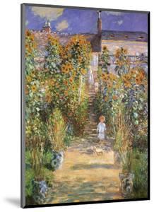 Garden at Vetheuil, c.1881 by Claude Monet