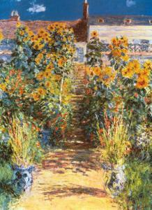 Garden at Vetheuil by Claude Monet