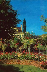 Garden in Bloom at Saint-Adresse by Claude Monet