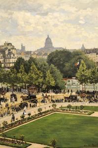 Garden of the Princess by Claude Monet