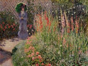 Gladioli, c.1876 by Claude Monet