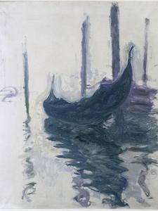 Gondoles à Venise by Claude Monet