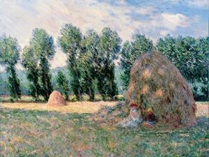 Haystacks, 1885 by Claude Monet