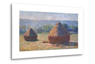 Haystacks, End of the Summer, Morning Effects