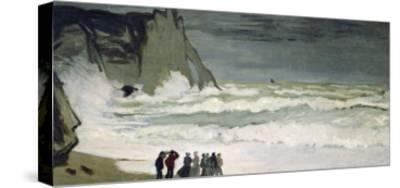 High Seas in Etretat, 1868-69