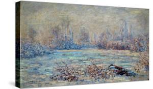 Hoar-Frost Near Vetheuil, 1880 by Claude Monet