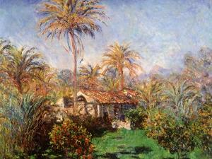 House Among the Palms, 1884 by Claude Monet