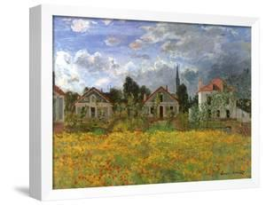Houses in Countryside, 1873 by Claude Monet
