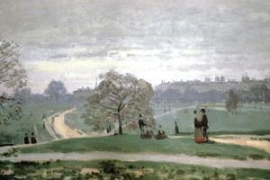 Hyde Park, London, 1871 by Claude Monet