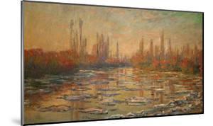 Ice Flows on the Seine, 1880 by Claude Monet
