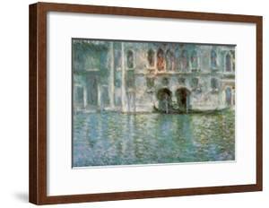 II Palazzo da Mula a Venezia by Claude Monet