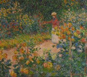 Im Garten, 1895 by Claude Monet