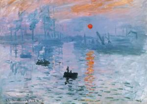 Impression Soleil Levant by Claude Monet