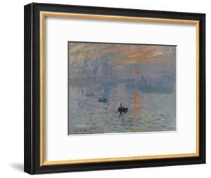 Impression: Sunrise, 1872 by Claude Monet
