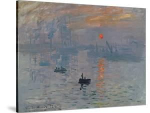 Impression: Sunrise, 1872 by Claude Monet