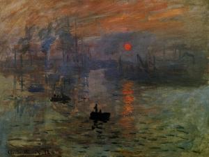 Impression: Sunrise 1873 by Claude Monet