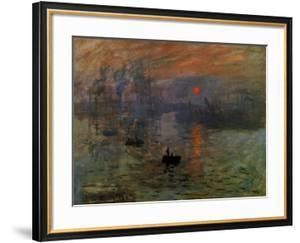 Impression: Sunrise 1873 by Claude Monet