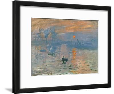 Impression, Sunrise (Impression, Soleil Levan), 1872