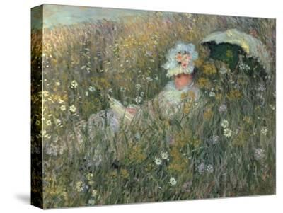 In the Flowering Meadow (Dans La Prairie), 1876
