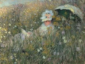 In the Flowering Meadow (Dans La Prairie), 1876 by Claude Monet