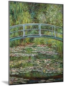 Japanische Bruecke, 1899 by Claude Monet