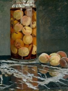 Jar of Peaches, Ca 1866 by Claude Monet