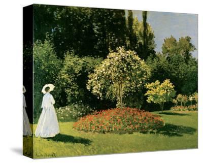 Jeanne Marguerite Lecadre in a Garden, c.1867
