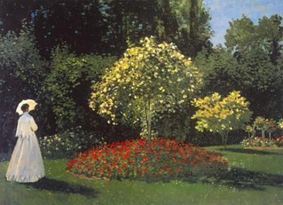 Jeanne-Marguerite Lecadre in the Garden
