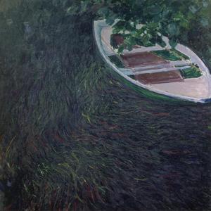 La Barque, about 1887 by Claude Monet