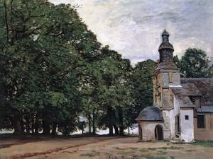 La Chapelle De Notre-Dame De Grace, Honfleur by Claude Monet