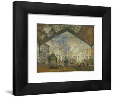 La Gare Saint Lazare, 1877