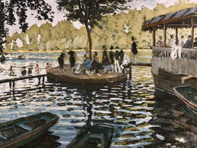 La Grenouillere by Claude Monet