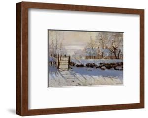 La Pie, Effet de Neige by Claude Monet