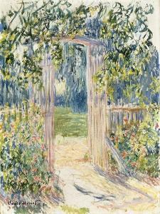 La Porte du Jardin, Vetheuil, 1881 by Claude Monet