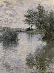 La Seine à Vétheuil by Claude Monet