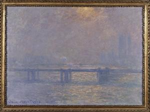 La Tamise à Charing-cross by Claude Monet