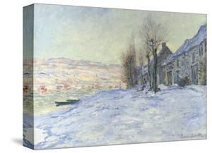 Lavacourt, under Snow, ca. 1878-1881 by Claude Monet