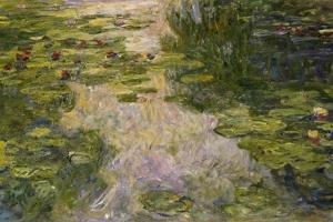 Le Bassin Aux Nymphéas, 1917-1919 by Claude Monet