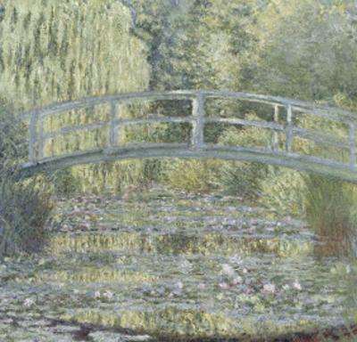 Le Bassin aux nymphéas : harmonie verte by Claude Monet