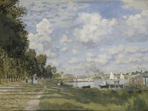 Le Bassin D'Argenteuil, 1872 by Claude Monet