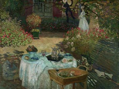 Le Déjeuner, 1873 by Claude Monet