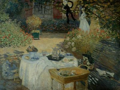 Le Dejeuner (The Luncheon) by Claude Monet