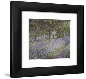 Le jardin de l'artiste à Giverny by Claude Monet