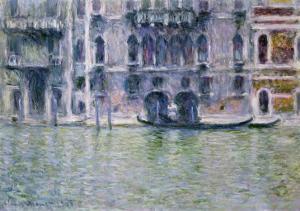 Le Palais Da Mula by Claude Monet