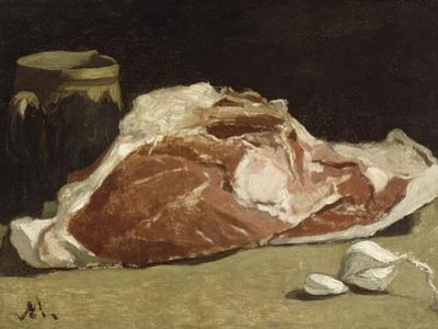 Le quartier de viande by Claude Monet